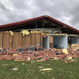 St. John The Evangelist Church In Emory Destroyed In Tornadoes